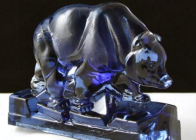 Walther Figures – Glass Eisbär