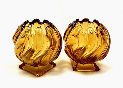 Bagley Glass Equinox Posy Vases