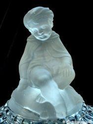 Baccarat Glass  Elephant Bowl (2)