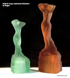 Bagley Glass Andromeda Statuette Two Sizes (1)