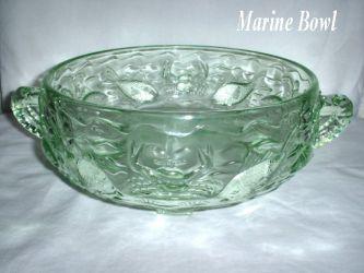 Bagley Glass Marine Bowl (1)