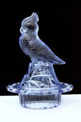 """Brockwitz Glass """"Kakadu"""""""