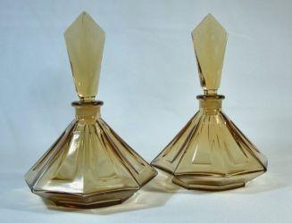 Brockwitz Glassworks Perfume Bottles