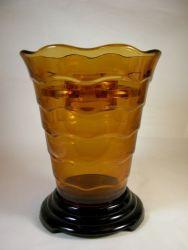 Davidson Glass Ripple Vase (1)