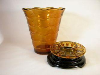 Davidson Glass Ripple Vase (2)