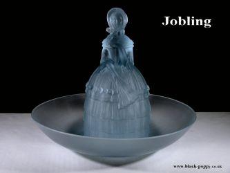 Jobling Glass Crinoline Lady 2596-7 (1)