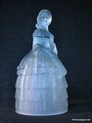 Jobling Glass Crinoline Lady 2596-7 (2)