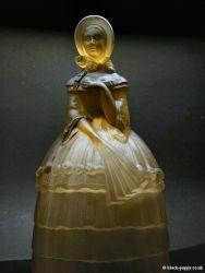 Jobling Glass Crinoline Lady 2596-7 (3)