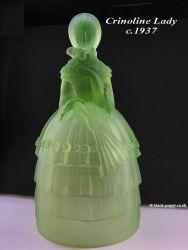 Jobling Glass Crinoline Lady 2596-7 (5)