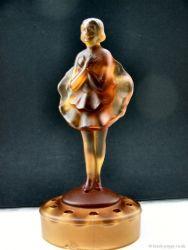 Jobling Glass Dancing Girl and Block (11)