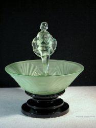 Jobling Glass Dancing Girl and Block (1)