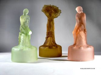 Sowerby Glass Lady Figurine (4)