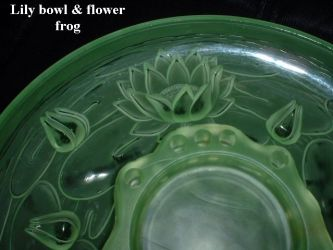 Walther Glass Lily Bowl for Flotenspeiler or Nelson Figurine (4)