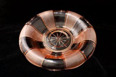 Walther Glass Lucretia Flower Frog & Gorlitz Float Bowl (3)