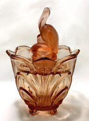 Walther Glass Pelikan & Irene Vase (2)