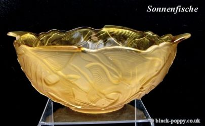 Walther Glass Sonnenfishe Bowl Out Turned rim (4)